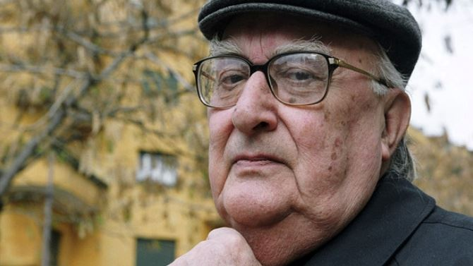 Lo scrittore Camilleri