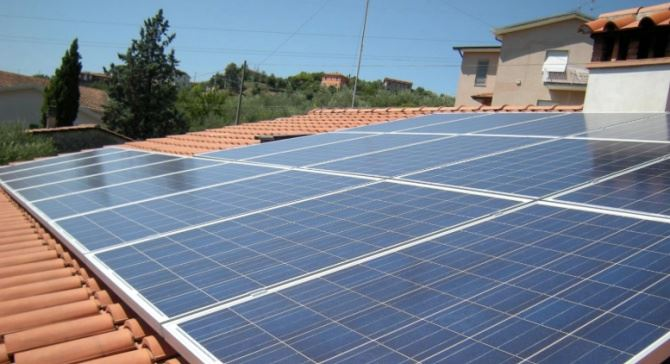 Impianto fotovoltaico, immagine di repertorio