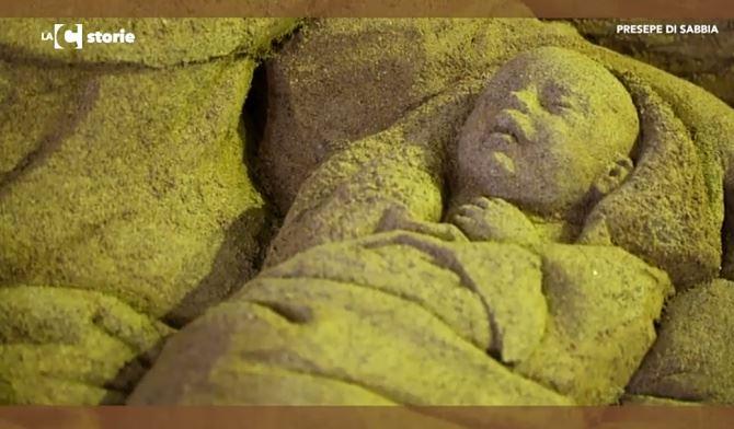 Stalettì, presepe di sabbia