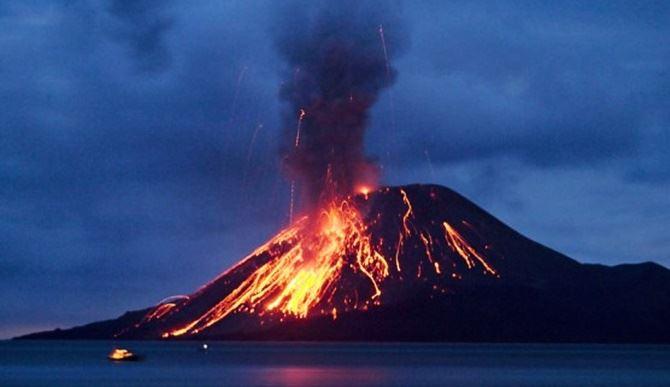 Vulcano in Indonesia