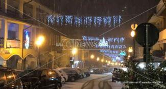 Nevicata in Sila, Capodanno sotto la coltre bianca