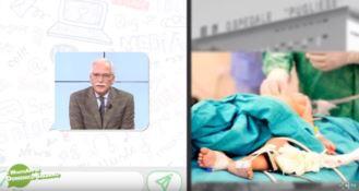 Le patologie dell'età infantile, il Whatsapp del dottor Domenico Salerno