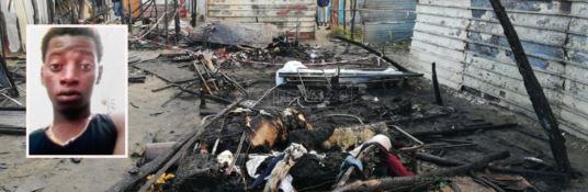 Incendio divampa nella tendopoli di San Ferdinando e uccide un giovane migrante