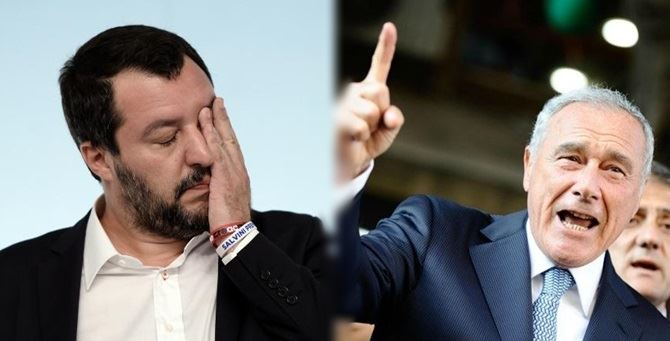 Salvini e Grasso