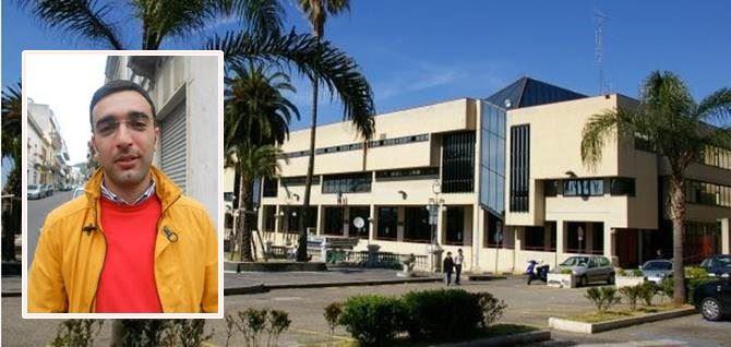 In foto Gabriele Parisi e il Tribunale di Palmi