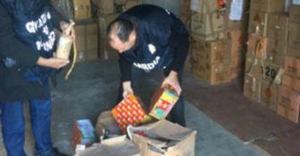 Maxi sequestro di botti natalizi nel Cosentino