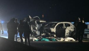 Incidente in Lombardia, foto Ansa
