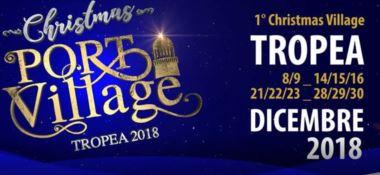"""""""Christmas Port Village"""": il Natale sbarca al porto di Tropea"""