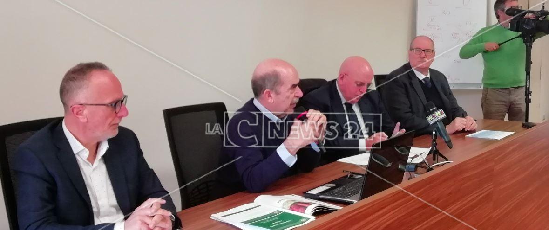 La conferenza stampa alla Cittadella