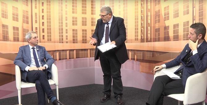 Da sinistra, Angelo Sposato, Pasquale Motta e Daniele Rossi