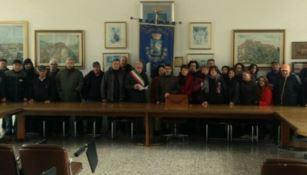 I 47 lsu-lpu in sciopero nella fame nel Comune di Oriolo