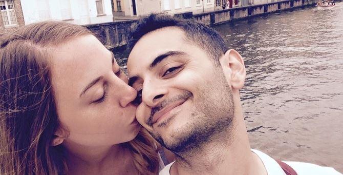 Antonio Megalizzi con la fidanzata Luana Moresco