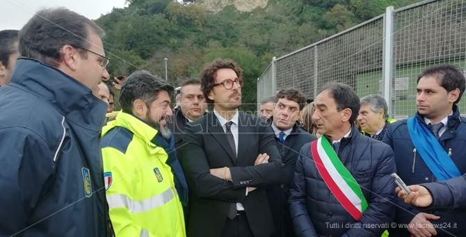 Il ministro Toninelli a Catanzaro