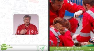 Formazione nella Croce rossa, il WhatsApp di Filippo Marino