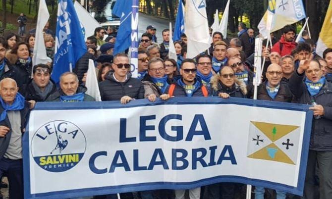 Matteo Salvini arringa Piazza del Popolo. Le foto