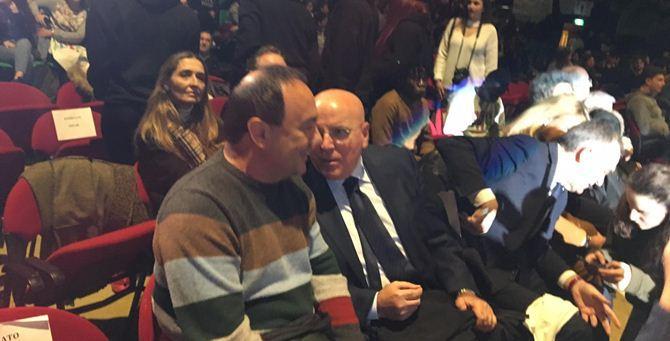 Lucano e Oliverio al Meeting dei diritti umani di Firenze