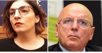 Laura Castelli e Mario Oliverio