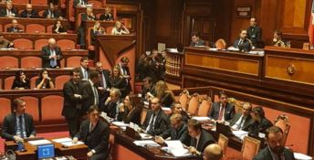 La discussione in Senato sul maxiemendamento