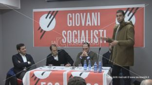 Mattia Caruso nuovo segretario regionale dei Giovani Socialisti