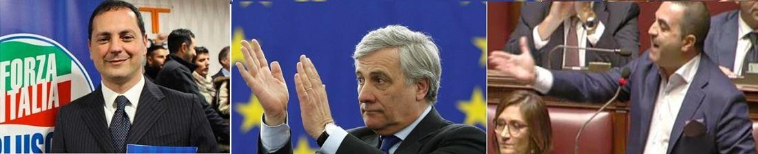 Marco Siclari, Antonio Tajani e Francesco Cannizzaro