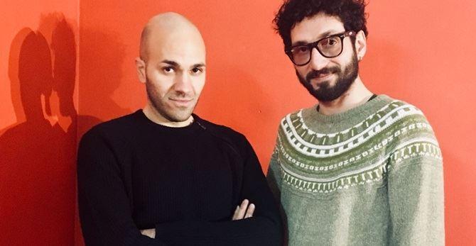 I direttori artistici Gianluca Vetromilo e Achille Iera