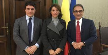 Marco Polimeni, Francesca Ferrandino e Sergio Abramo