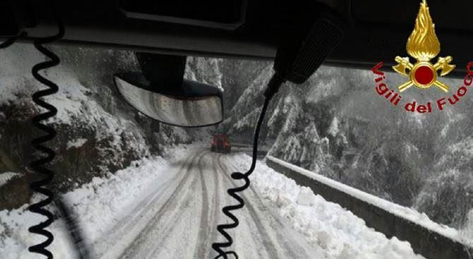 Neve a Serra San Bruno