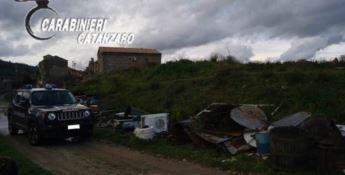 Girifalco, sequestrata discarica abusiva