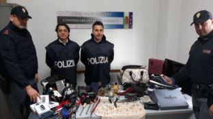 Rossano, rubavano nelle case e spacciavano droga: arrestati