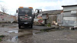 Allagamenti nel campo rom di Scordovillo: intervengono gli autospurgo