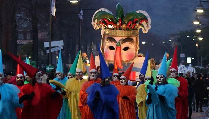 La precedente edizione del Carnevale