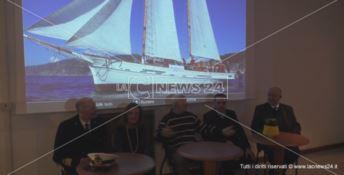 Attracca a Crotone il museo navigante della goletta Oloferne