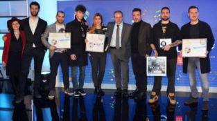 Premiazioni Afi e Musica contro le mafie a Sanremo: l'orafo Affidato schierato nel sociale