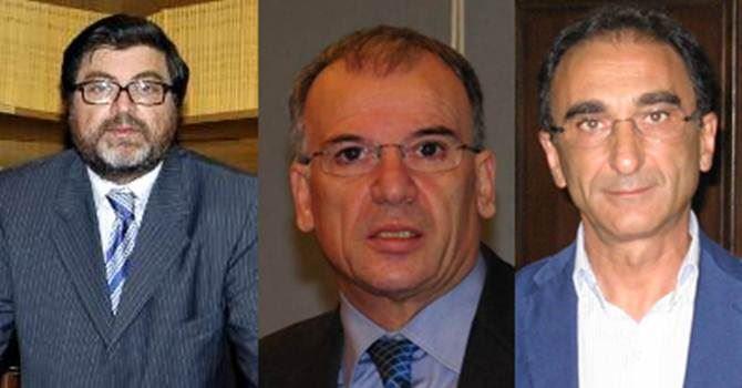 Giuseppe D'Ippolito, Mimmo Tallini e  Sergio Abramo