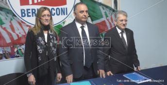Forza Italia e Lega, presentate le candidature a Crotone