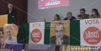 VERSO LE ELEZIONI | Per Liberi e Uguali a Crotone arriva Enrico Rossi