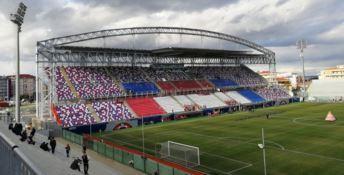 Lo stadio di Crotone