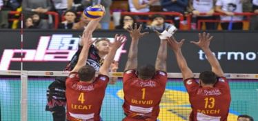 SUPERLEGA | Tonno Callipo, regular season chiusa con una sconfitta