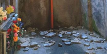 Catanzaro, piovono calcinacci nel cimitero monumentale