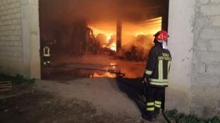 Incendiato capannone del presidente di Crotone di Confagricoltura