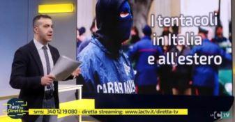 """Mafia, politica e opere pubbliche a """"I fatti in diretta"""""""
