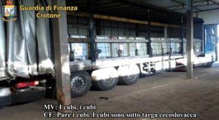 Crotone, contrabbando prodotti petroliferi: una frode da 1 milione di euro (NOMI-VIDEO)