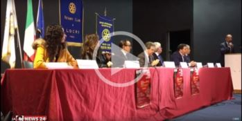 Scioglimenti antimafia, i Rotary club di Nicotera e Locri sollecitano una riflessione (VIDEO)