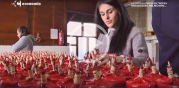 Cipolla rossa di Tropea e passione imprenditoriale, la ricetta vincente su LaC economia (VIDEO)