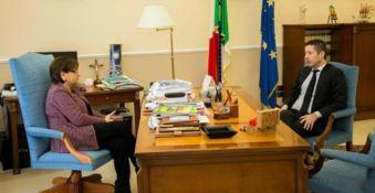 Daniele Rossi incontra Latella e Bertolone