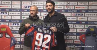 Il Crotone presenta Ahmad Benali