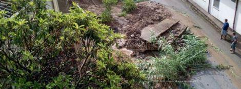 Maltempo nel Vibonese, crolla casa a Nicotera. Le strade trasformate in fiumi di acqua e fango