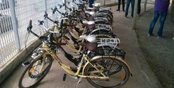 In bici per la città, inaugurato il park'n'ride di Crotone