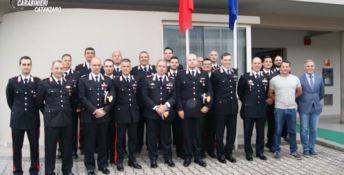 Il comandante interregionale dei carabinieri in visita a Soveria Mannelli