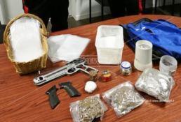 Il frullatore utilizzato per tagliare la droga, giovane arrestato a Rende